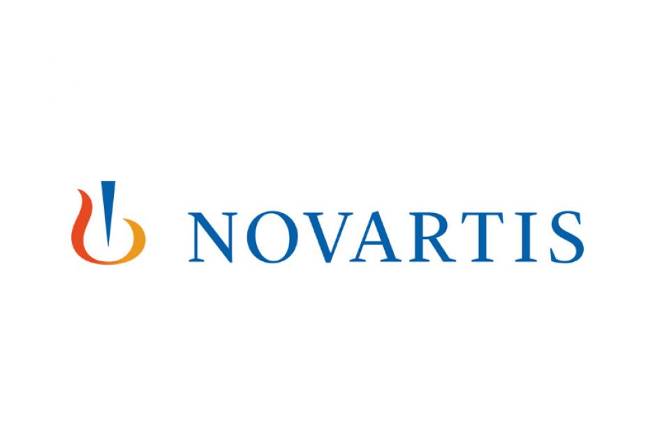 Das Logo von Novartis