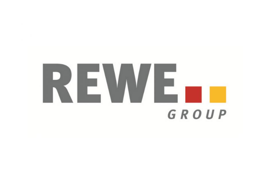 Das Logo der REWE Group