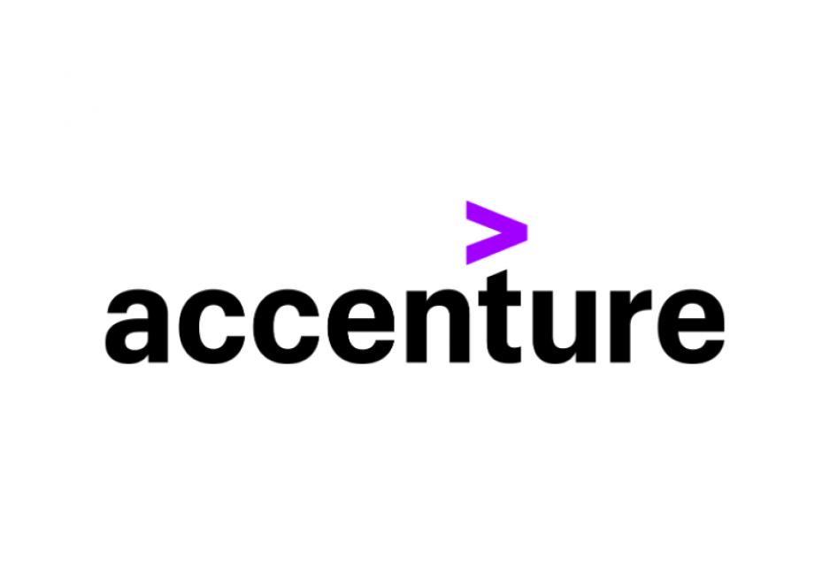 Das Logo von Accenture