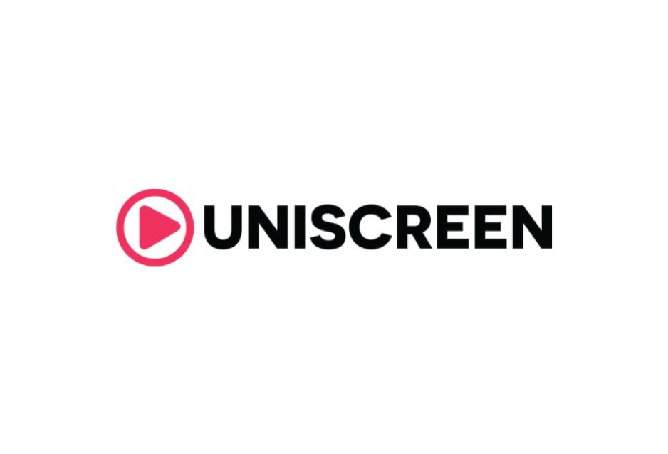 Das Logo von Uniscreen