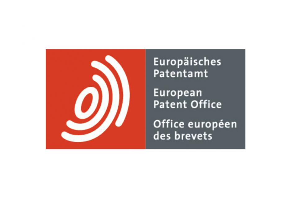 Das Logo des Europäischen Patentamts
